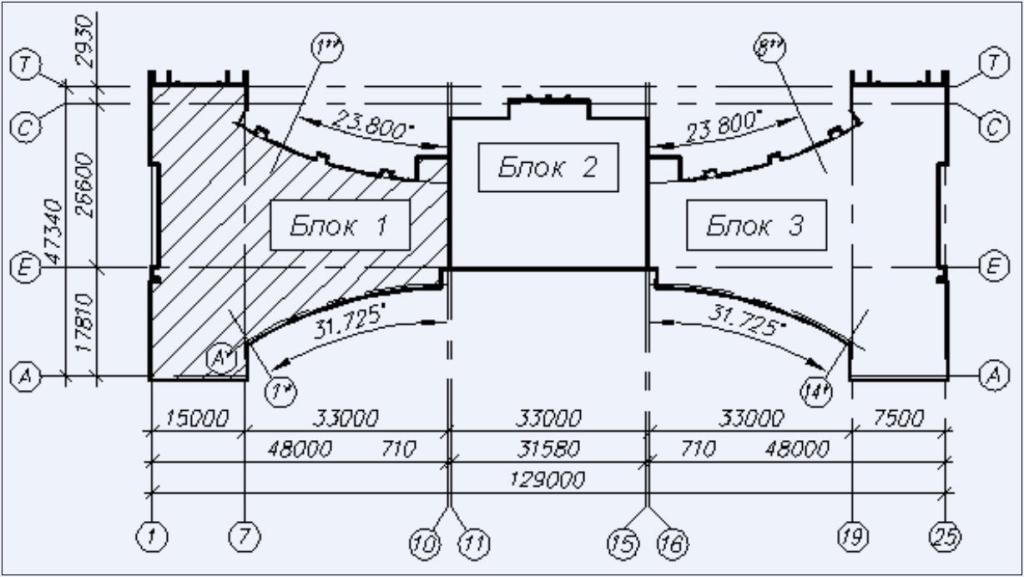 Компоновочная схема объекта